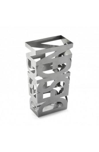 Portaombrelli design nero e argento for Arredo casa oggettistica
