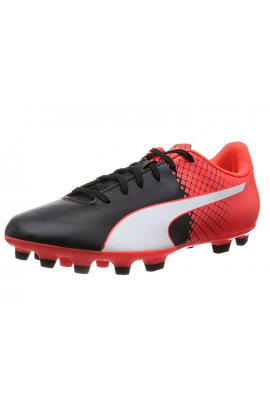 PUMA SCARPA DA CALCIO EVO SPEED BLACK-WHITE RED 103598 03