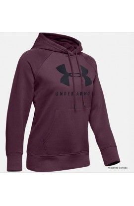 UNDER ARMOUR FELPA DONNA C/CAPP. FULL ZIP 1348559