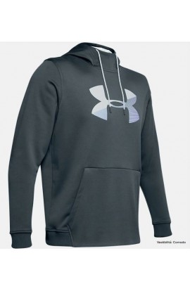 UNDER ARMOUR FELPA CON CAPPUCCIO BIG LOGO 1345321