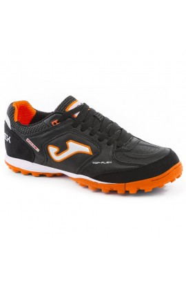 JOMA SCARPA CALCETTO UOMO TOP FLEX 901 BLACK FLUOR TF