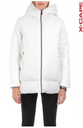 X-CAPE  PIUMINO DONNA WHITE