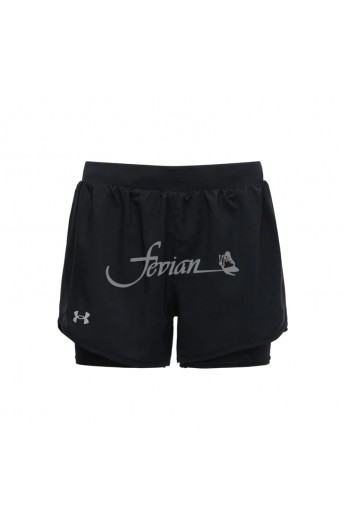 UNDER ARMOUR Pantaloncino Short UA Fly-By 2.0 2in1 Donna 1356200